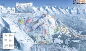 Image plan des pistes